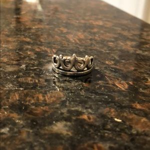 James Avery Crown Ring